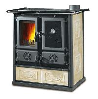 фото Дровяная кухонная плита Rosetta La Nordica