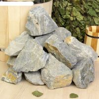 фото Камни для бани Белый кварцит 20 кг