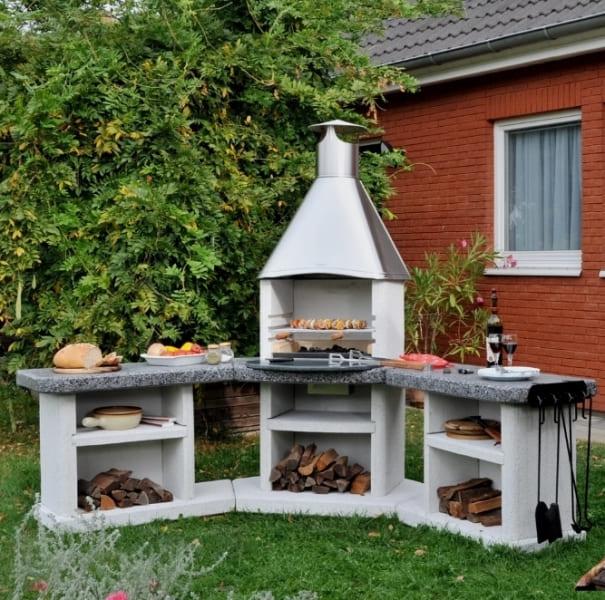 фото Угловой садовый гриль-барбекю Avanta Exclusive
