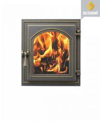 Дверца топочная 220 бронза (325*290)