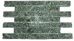 Плитка серпентинит дикий камень Премиум 150х50х25