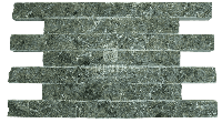 фото Плитка серпентинит дикий камень Премиум 150х50х25