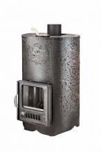 фото Печь для бани Ферингер Уют 25 ПФ в кожухе дуб