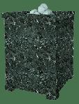 Облицовка для чугунной банной печи Оптима 750/50 Серпентинит ПБ-04 ЗК