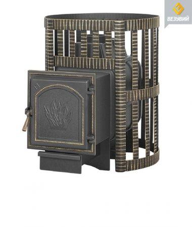 фото Чугунная печь для бани Легенда Ковка 16 (271)  Везувий