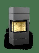Печь-камин Астов Ферро П2С 700 стальной