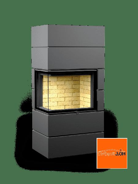 Печь-камин Астов Ферро П2С 700