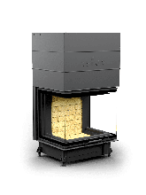 Каминная топка Астов П3С 7057 с максимальным обзором пламени