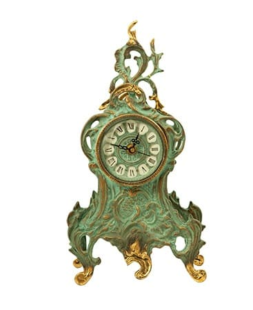 фото Бронзовые каминные часы 5066G