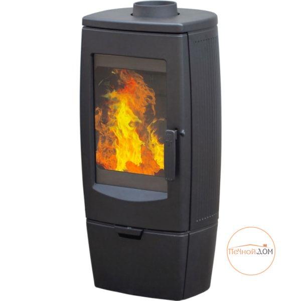 фото Печь-камин чугунная Gala Plamen/Хорватия черная