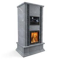 Теплонакопительная печь с духовкой Heritage VIII/Теплый Камень