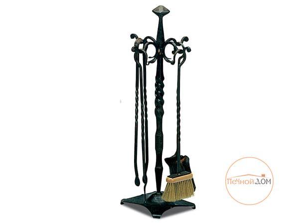 Каминный набор 4 пр. (K139) ручная ковка