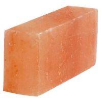 фото Кирпич из гималайской соли для стен шлифованный 200*100*50