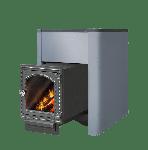 Чугунная печь для бани с выносом Этна Кратер 24 ДТ4С