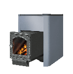 Чугунная печь для  бани Этна Кратер 18 ДТ4С
