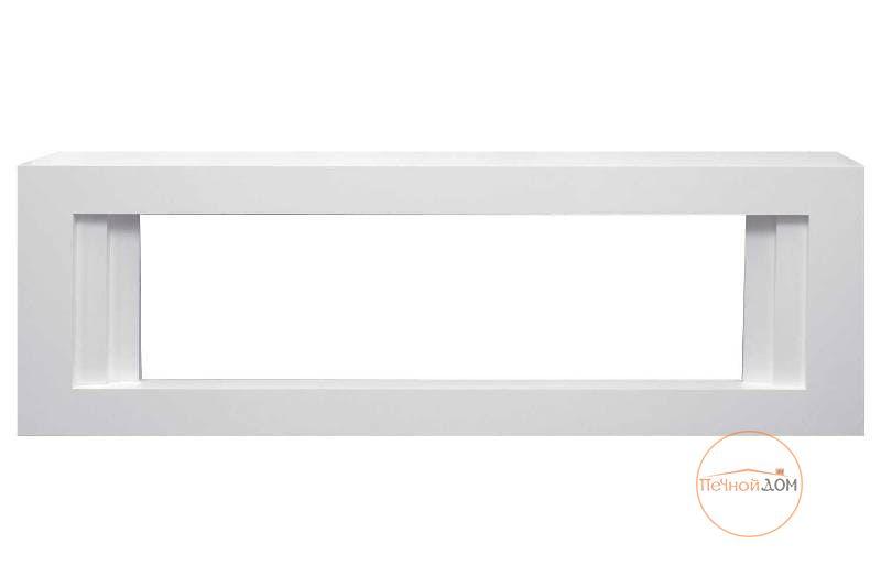 Белый портал для электрокамина Line Dimplex