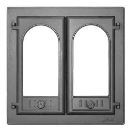 фото Дверь каминная с двумя створками LK 300