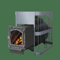 фото Чугунная печь для бани Этна Магма 24 ДТ4С