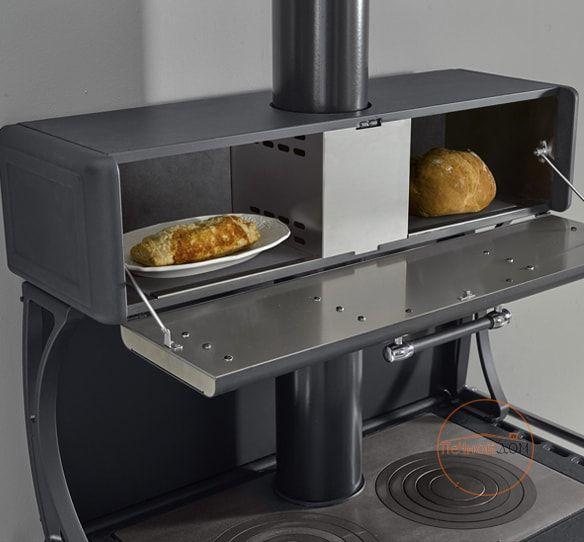 фото Отопительно варочная печь Milly La Nordica с духовкой