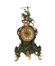 фото Бронзовые каминные часы 5063P