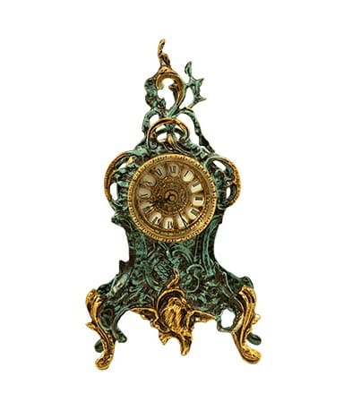 Бронзовые каминные часы 5065P