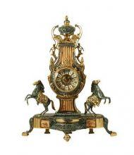 Бронзовые каминные часы 5378P