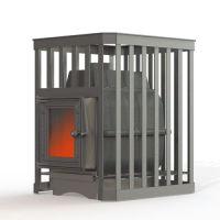 фото Печь для бани Fireway Parovar 18 ковка (201) без выноса