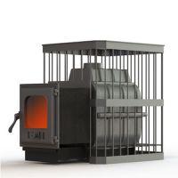 фото Чугунная печь Fireway Паровар 18 прут (402)