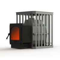 фото Чугунная печь для бани Fireway Паровар 18 ковка (404)
