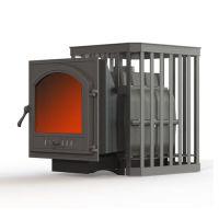 фото Чугунная печь для бани Fireway Паровар 18 ковка (505)