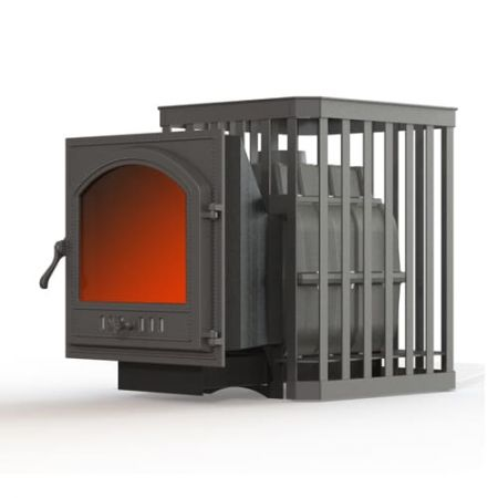 фото Печь для бани Fireway Паровар 24 ковка (505) дровяная
