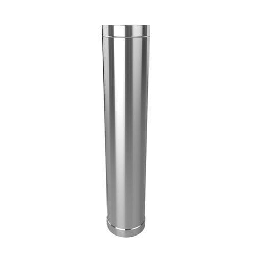 Дымоход одностенный 100 мм L-0,5м