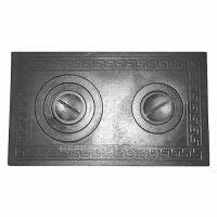 фото Плита 2-комф. П2-3 710x410 мм чугунная на дровяную печь