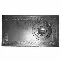 фото Плита для дровяной печи чугунная 1-комф. П1-3Б 710x410 мм