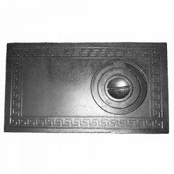 Плита для дровяной печи чугунная 1-комф. П1-3Б 710x410 мм