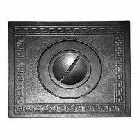 фото Плита на дровяную печь 1-комф. П1/2 345x300 мм чугун