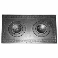 фото Плита 2-комф. П2-1 малая 585x340 мм для дровяной печи