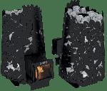 Печь для бани Dubrava 180 Long black Grill D