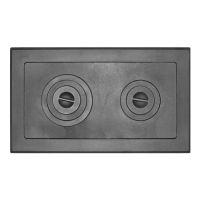 фото Чугунный настил для печи Т202 710/410 мм