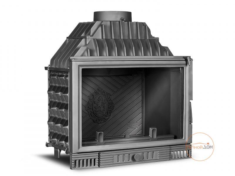 фото Каминная вставка Kaw-Met W1 Herb (18 kW) чугунная