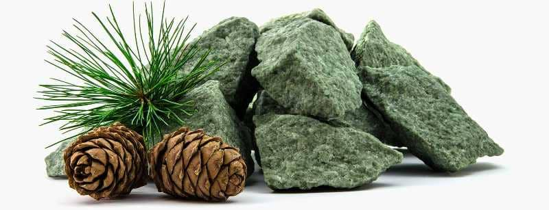 фото Камни для бани Жадеит колотый 15 кг